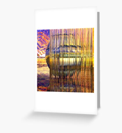 Definition of Design // Behind the Shining Glass Greeting Card