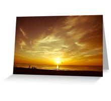 Come Greet the Day Greeting Card