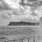 Big wave, Scarborough by Asher Haynes