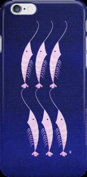 Mr. Shrimps Cousins  by Gréta Thórsdóttir