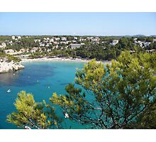 Cala Galdana From The House On The Cliff Photographic Print