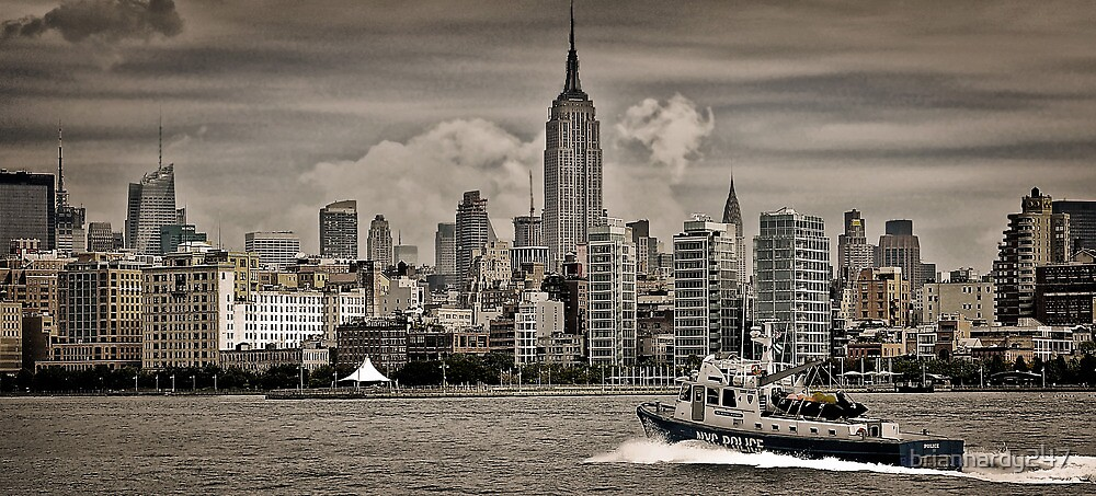 NYC River Police by brianhardy247