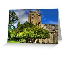 Dunkeld Cathedral II Greeting Card