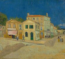 The Yellow House by Vincent van Gogh by Robert Partridge
