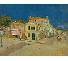 The Yellow House by Vincent van Gogh Photographic Print