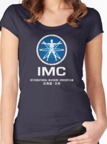 International Machine Consortium (worn look) Women's Fitted Scoop T-Shirt