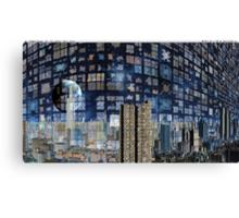 City Reflected - Bending Light Canvas Print