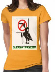 The Gunshypigeon Classic. Womens Fitted T-Shirt