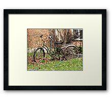 Retrocycle Framed Print