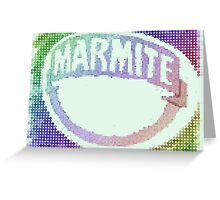 Rainbow Marmite Greeting Card