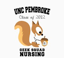 UNCP NURSING - GEEK SQUAD Womens Fitted T-Shirt