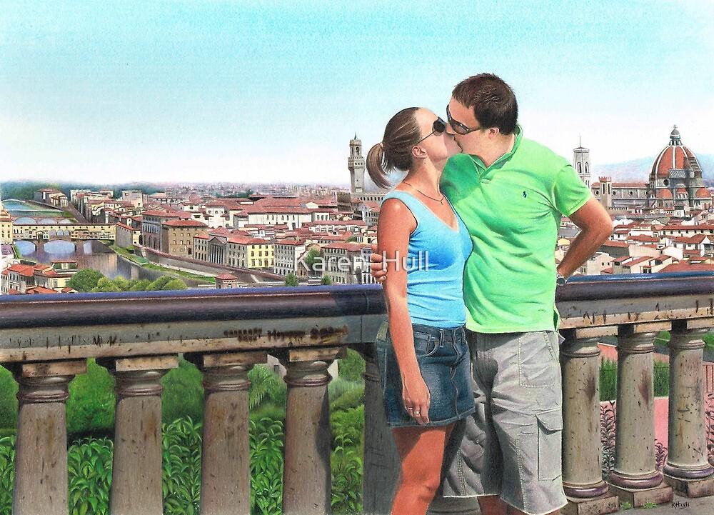 'Amore d'estate, Firenze'  by Karen  Hull
