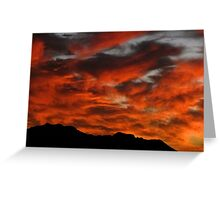Sunset over Kaimuki III Greeting Card