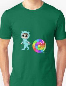 Blue Bear loves candy T-Shirt