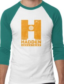 Hadden Industries (Worn Look) Men's Baseball ¾ T-Shirt