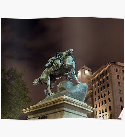 South African War Memorial Poster