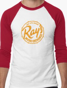 Ray's Music Exchange (worn look) Men's Baseball ¾ T-Shirt