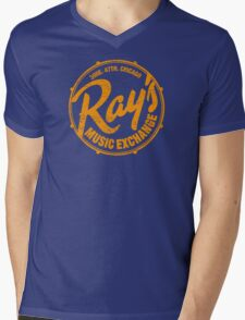 Ray's Music Exchange (worn look) Mens V-Neck T-Shirt