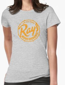 Ray's Music Exchange (worn look) Womens Fitted T-Shirt