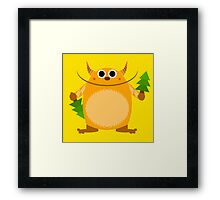From monster with love Framed Print