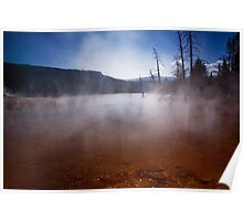 Mammoth Hot Springs 4 Poster