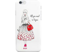 All you need is Vogue iPhone Case/Skin