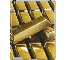 Gold Bars! iPad Case/Skin