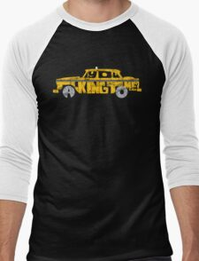Cab chauffeur Men's Baseball ¾ T-Shirt