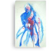 The Broken Hearted Man Canvas Print