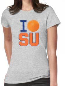 I Heart ( LOVE ) SU - Orangemen Womens Fitted T-Shirt