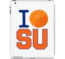 I Heart ( LOVE ) SU - Orangemen iPad Case/Skin