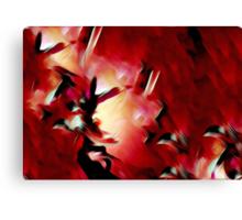 Splash of Colors Oil Painting 3 Canvas Print