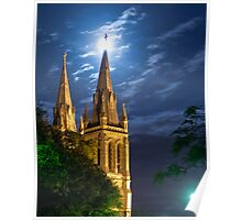 St Peter's Cathedral, North Adelaide Poster
