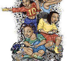 Growing Up Gaming by khamel