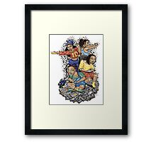 Growing Up Gaming Framed Print