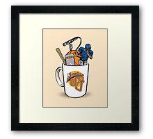 Morning Cup of J Framed Print