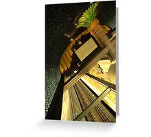 Hollywood Subway Greeting Card