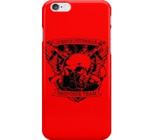 Zombies outbreak. iPhone Case/Skin