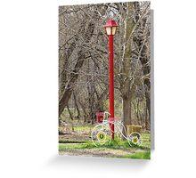 Trike Light Greeting Card