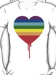 RAINBOW BLEEDING HEART T-Shirt