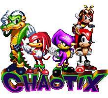 Chaotix Photographic Print