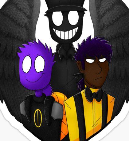 The V-Bros! Vinny, Vince, and Vendetta Sticker