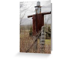 Watcher  Greeting Card