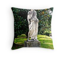 Sculpture in Vatican City Throw Pillow