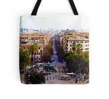 Looking out from Vatican City Tote Bag
