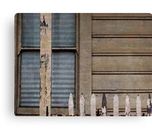 Wood, Window, Fence Canvas Print