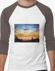 Sky Paradise Men's Baseball ¾ T-Shirt