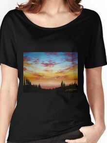 Sky Paradise Women's Relaxed Fit T-Shirt