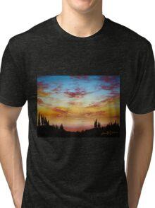 Sky Paradise Tri-blend T-Shirt
