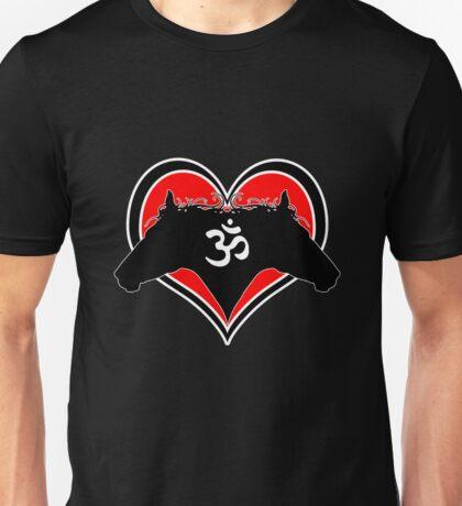 I Heart Horses AUM April 2012 Unisex T-Shirt
